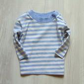 Полосатый реглан для маленького модника. Mothercare. Размер 0-3 месяца. Состояние: новой вещи
