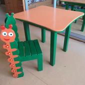 Столик и стульчик для малыша от 1, 5 до 6 лет
