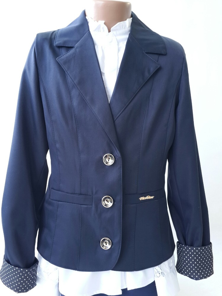 Распродажа!! пиджаки школьные 122-146 фото №1