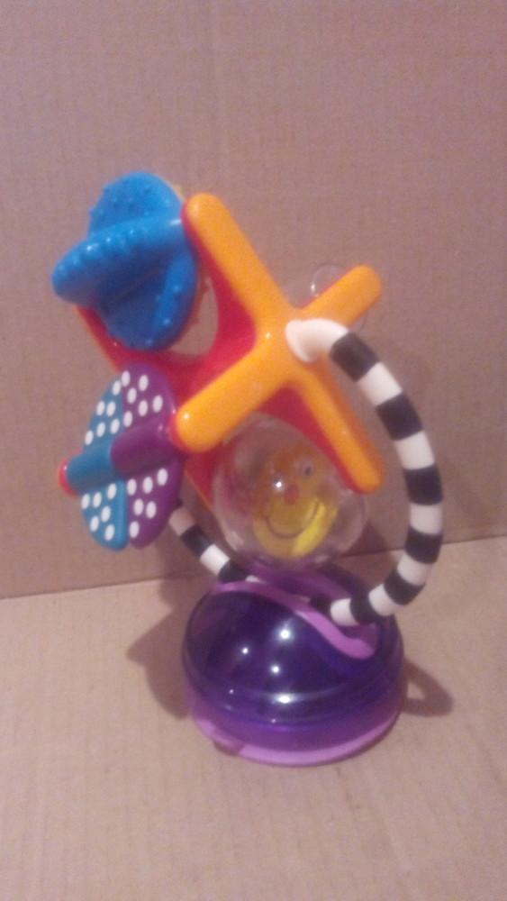 Погремушка на присоске на стул для кормления(сост.отличное,ближе к новому)! фото №1