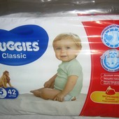 Подгузники Huggies Classic (3, 4, 5)