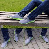 Очень легкие летние мужские кроссовки сетка (R145)