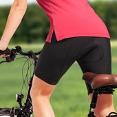 Велосипедные шорты с памперсом, TCM, tchibo, размер L.