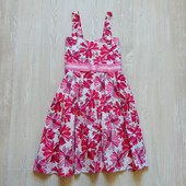 Яркое стильное платье для девочки. Размер не указан, смотрите замеры, ориентировочно 12 лет.