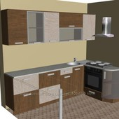 3D дизайн интерьера, деталировка, раскрой мебели.