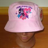 Детская панамка для девочки Литл Пони р. 50, 52