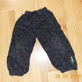 Фирменные спортивные брюки Rebel для мальчика 2-3 года, 92-98 см
