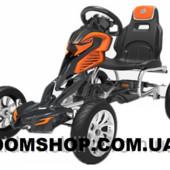 Детский спортивный картинг,на педалях,и ЕВА колесами GM504