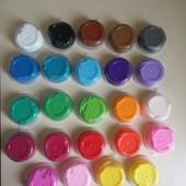 24 цвета прыгающий пластилин , супер легкая масса для лепки моделин
