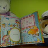 Самый яркий, информационный качественный Детский Фотоальбом от рождения до первых успехов в школе!