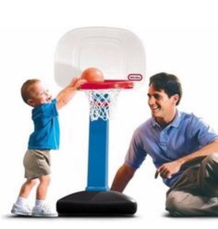 Little tikes баскетбольное кольцо фото №1
