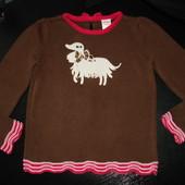 свитер Gymboree 5-6 (можно до 7 лет) лет 100% коттон состояние отличное Есть бирки.