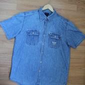 Джинсовая рубашка Guess - M (см.замеры)