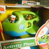 Развивающий самолетик с фигурками кидиленд новинка