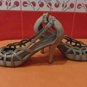 Туфли летние р.37/38(5) Mix, по стельке-24,8 см.