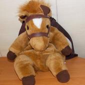 """Красивый фирменный рюкзак """"Лошадка"""" для ребенка 2-6 лет"""