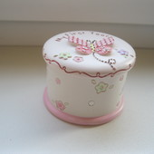 Керамическая коробочка для детского зубика