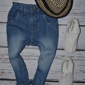 Фирменные джинсы скины для моднявок узкачи Некст Next 12 - 18 месяцев