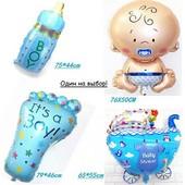Большие надувные шары для новорожденного (Один на выбор)