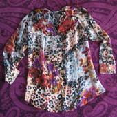 Красивая фирменная удлиненная блузка