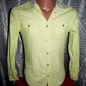 Стильная рубашка River Island р. 44-46 Турция.