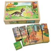 "Кубики ""Домашние животные"" Bino 84175"