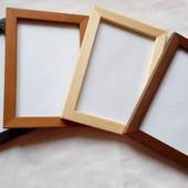 Фоторамка деревянная (цельная древесина),формат 10*15,цвет на выбор, 5 шт. одним лотом.Укр почты нет