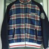 Модная куртка разм.S, мужская, можно подростку на рост.164, фирмен. Uncle Sam, демисезон.
