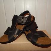 Мужские кожаные сандалии Stepwey 43р. Распродажа!