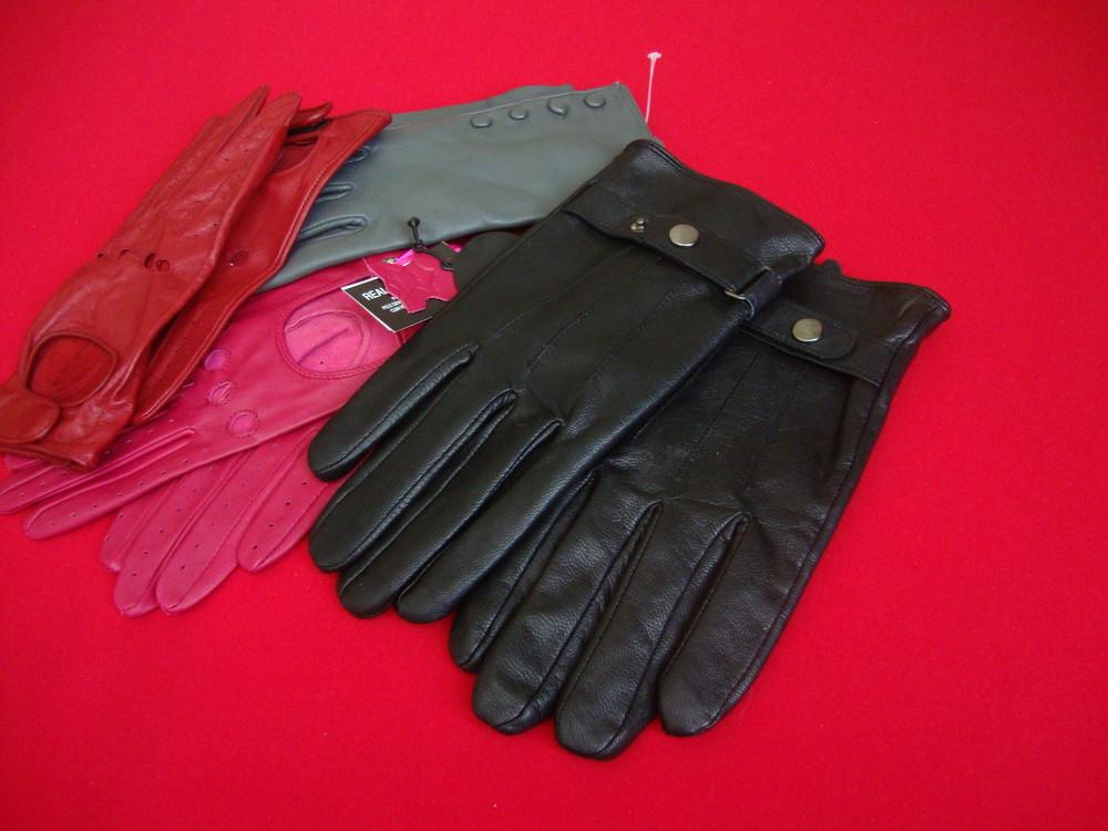 Перчатки Burton натур кожа M фото №1