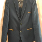 Классический костюм двойка для мальчика - б/у - состояние нового (р. 42 на рост 164-176 см)