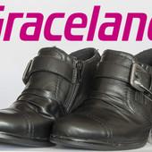 Ботинки женские демисезонные на столбике 35р Graceland Германия