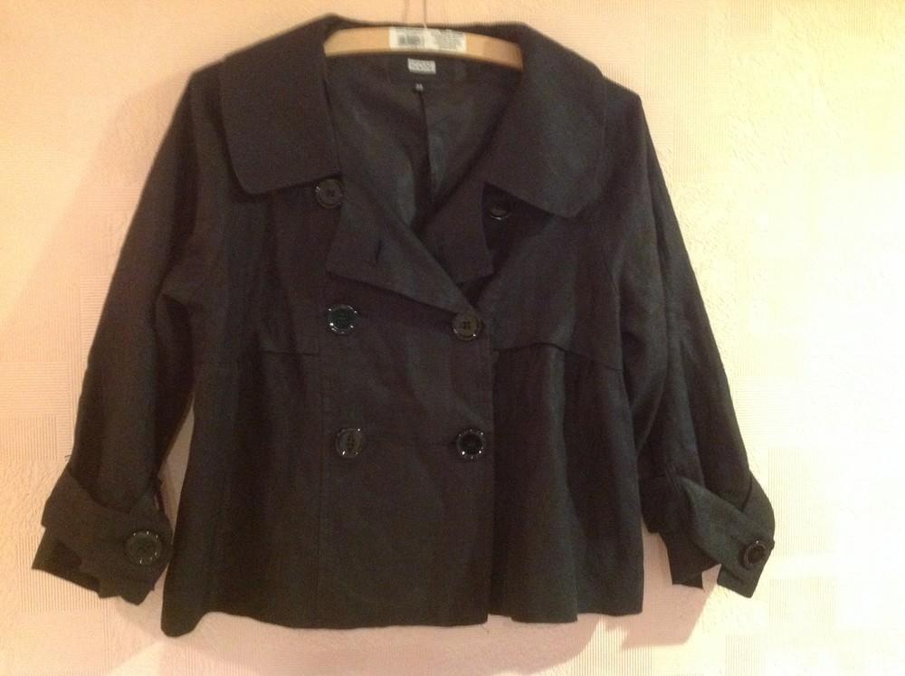 Шикарный льняной пиджак фото №1