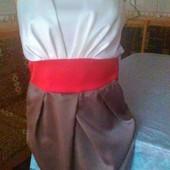 Шикарное фирменное платье- бюстье