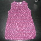 платье Tu 18-24 мес (можно до 3 лет) 100% коттон состояние нового