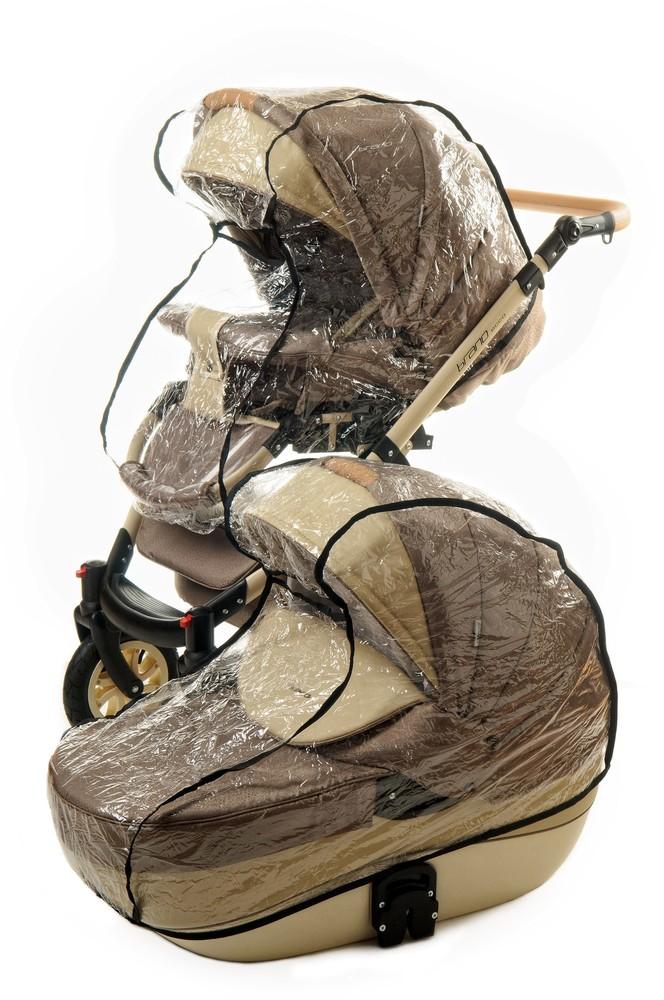 Дождевик для коляски качественный силиконовый на коляску польша! фото №1