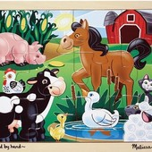 Пазл начального уровня «На ферме», Melissa&doug Артикул: MD2934