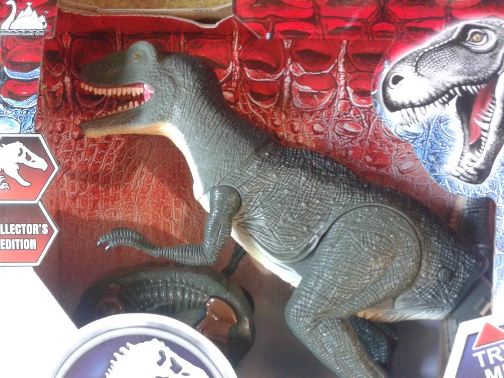 Крутые динозавры на радиоуправлении фото №1