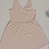 H&M Divided. Платье майка с ажурной спинкой нежнейшего розово пудрового цвета.
