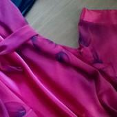 Шёлковый халат + ночная сорочка S/M