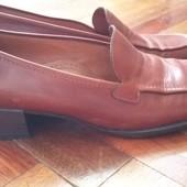 Туфли кожаные, Италия, р.38