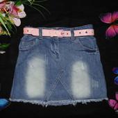 Моднячая юбка DenimCo 6-7л(116-122см)Мега выбор обуви и одежды