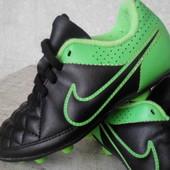 Бутсы р.28 Nike Tiempo(оригинал)