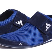 Кроссовки Adidas Velcro замша текстиль
