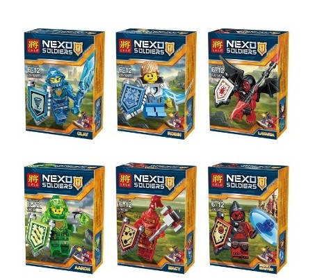 Конструктор lele серия nexo soldiers 79234 (6 видов) блок фото №1