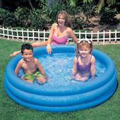"""Детский надувной бассейн """"Кристалл"""": 147х33см (Intex 58426)"""