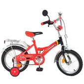Велосипед детский Profi 16дюймов  P 1636 красно-черный