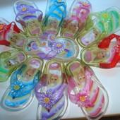 ОПТ Вьетнамки для девочек.Разные расцветки.24-27