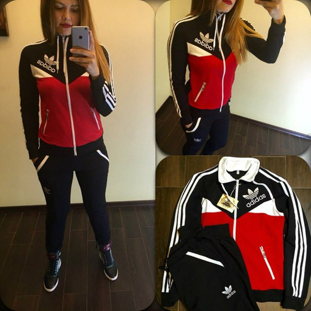 Женский спортивный костюм двунитка фото №1 25a7359eadf1a