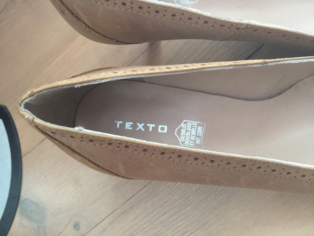 Кожаные туфли, лодочки 37 размер. фото №2